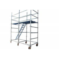 Use of Mobile Scaffold