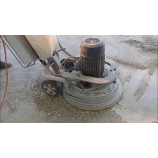 Patching levelling and grinding of concrete
