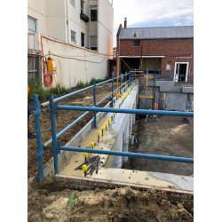 Temporary Handrail Installation