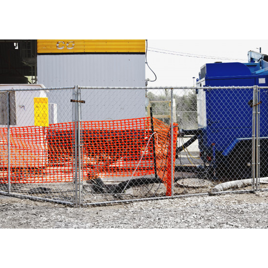 Installation of Temporary Fence Panels