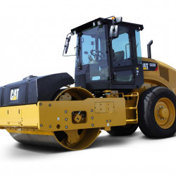 Use of roller and compactor
