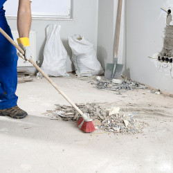 Housekeeping and cleaning of site amenities